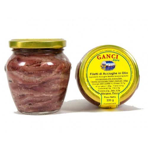 Filetti di Acciughe in olio gr. 220