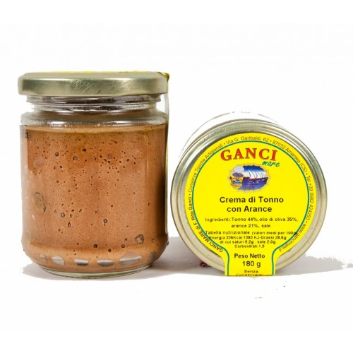 Crema di Tonno con Arance gr. 180