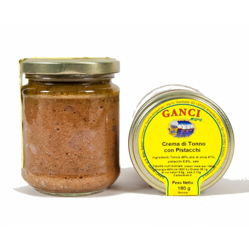Crema di Tonno con Pistacchi gr. 180