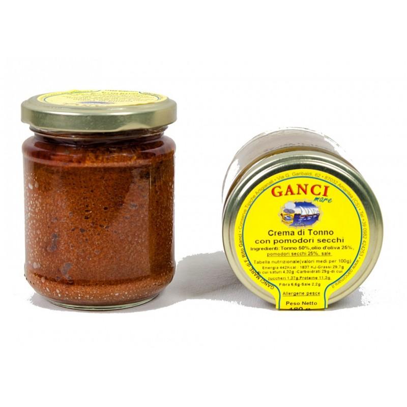 Crema di Tonno con Pomodori secchi gr. 180
