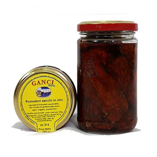 Pomodori secchi in olio gr. 290