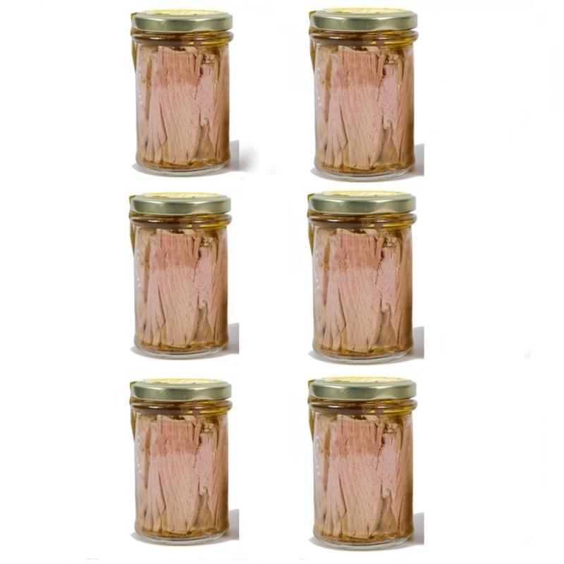 Filetti di Tonno all'olio gr.200