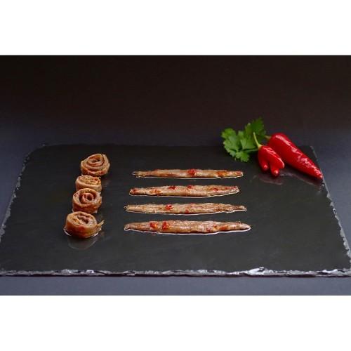 Filetti di Acciughe al Peperoncino gr. 100 (Pacco 6)